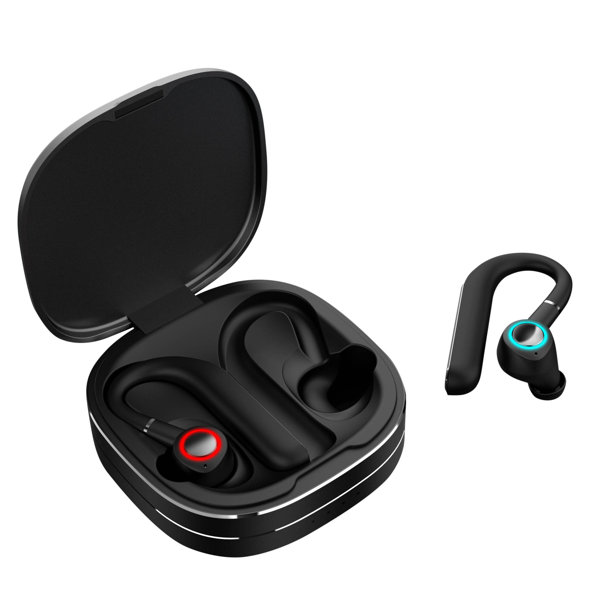 Earhook stereo waterproof tws earbuds
