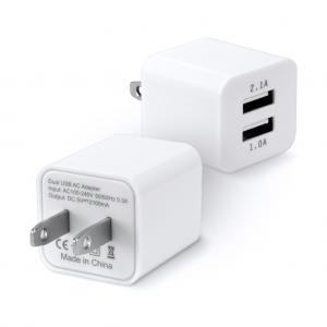 DUAL USB PORT 2.1A TRAVEL WALL CHARGER