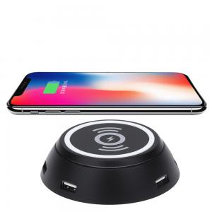 6 Ports USB hub wireless charger